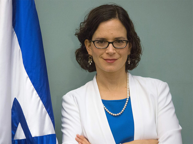 Knesset Member Rachel Azaria. Photo courtesy of Maayan Jaffe