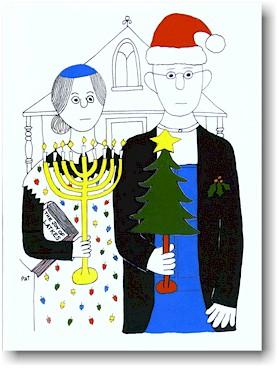 Interfaith Holiday cards.