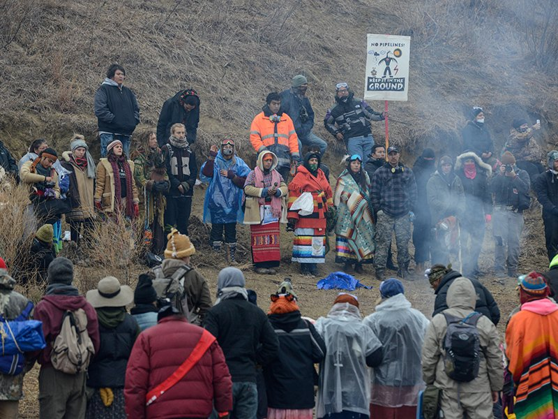 Sioux Antipipeline Action Sustained By Native American - Native american religion
