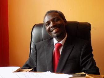 Pastor Samson Turinawe, founder and executive director of Universal Love Ministries. Photo by Barigye Ambrose in Kamwokya-Kampala, Uganda on November 23, 2016.