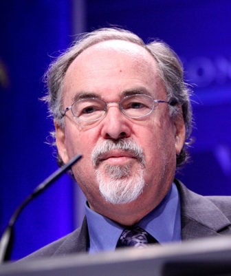 David Horowitz, pictured here speaking at CPAC in Washington D.C. on February 12, 2011, is on the SPLC list.