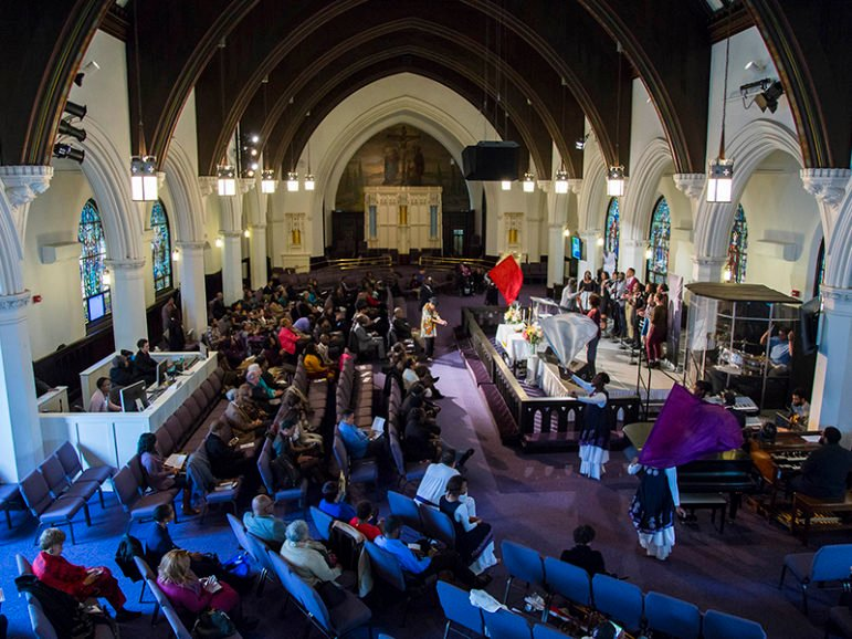 Bethel African Methodist Episcopal Church in Boston observed The Conversation Project's Conversation Sabbath in November 2015. Photo courtesy of The Conversation Project