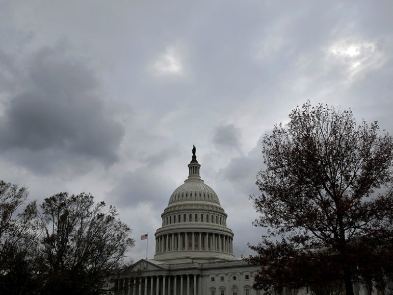 The U.S. Capitol is seen on Nov. 9, 2016, the day after the election of Donald Trump as president. Photo courtesy of Reuters/Joshua Roberts