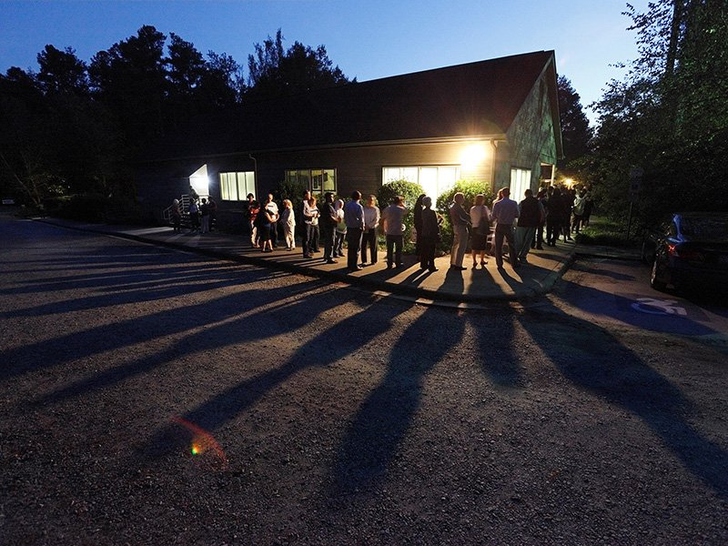 Voters cast shadows as they wait in a line at a polling station open into the evening as early voting for the 2016 general elections begins in Durham, North Carolina, on October 20, 2016. Photo courtesy of Reuters/Jonathan Drake/File Photo *Editors: This photo may only be republished with RNS-FIKED-OPED, originally transmitted on Nov. 3, 2016.