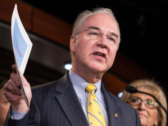 Chairman of the House Budget Committee Tom Price (R-GA) announces the House Budget during a press conference on Capitol Hill in Washington on March 17, 2015. Photo courtesy of Reuters/Joshua Roberts/File Photo *Ediors: This photo may only be republished with RNS-TRUMP CABINET, originally transmitted on Nov. 29, 2016.