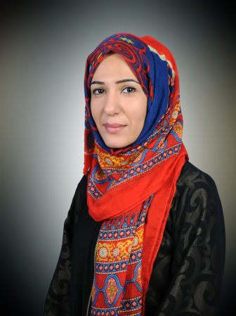 Ruhiyeh Thabet al-Sakkaf says she was forced to share a jacket and a damp cell at Sanaa's National Security Bureau after armed officers raided a multifaith youth event the women were facilitating in Yemen's capital. Photo courtesy of Ruhiyeh Thabet al-Sakkaf