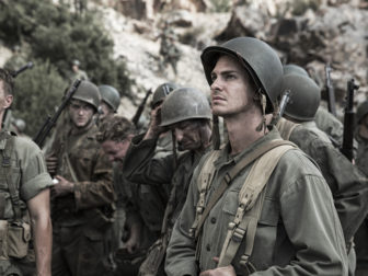 Andrew Garfield stars as 'Desmond Doss' in Hacksaw Ridge. Photo by Mark Rogers, courtesy of Lionsgate