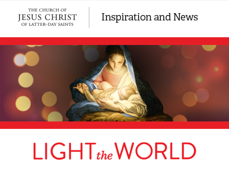 Lds Christmas Initiative 2019 Why I like the new Mormon #LighttheWorld campaign   Religion News