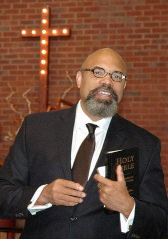 Rev. Dr. Joseph Evans is the Dean of the Morehouse School of Religion. Photo courtesy of Mount Carmel Baptist Church
