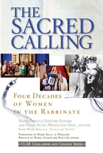 The Sacred Calling book. Photo courtesy of the Central Conference of American Rabbis