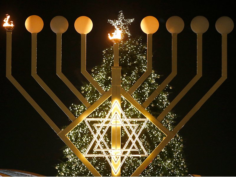 Hanukkah overlaps with Christmas this year. But why not every year ...