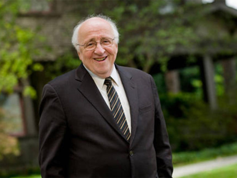 Richard Mouw is a professor of faith and public life and the former president of Fuller Theological Seminary. Image courtesy of Richard Mouw