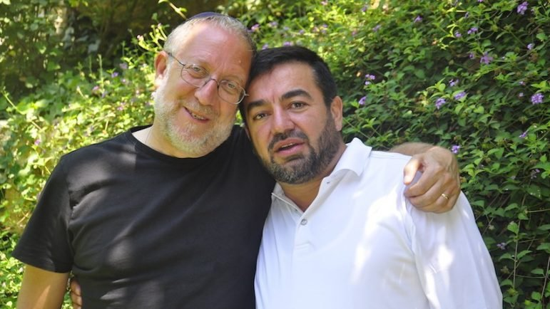 Yossi Klein-Halevi and Imam Abdullah Antepli.  Credit: Arizona Post