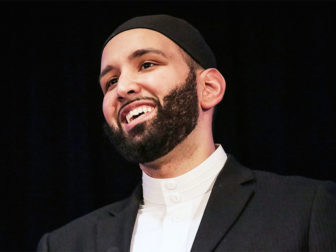 Imam Omar Suleiman, associate professor of religious studies at Southern Methodist University in Dallas. Photo courtesy of Omar Suleiman
