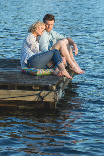 """Radha Mitchell and Sam Worthington in a scene from """"The Shack."""" Photo courtesy of Lionsgate"""