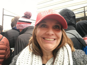 Teresa Kelton attends the Trump Inauguration on Jan. 20, 2017, in Washington, D.C. RNS photo by Lauren Markoe