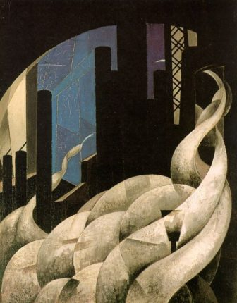 Demuth_Charles_Incense_of_a_New_Church,_1921