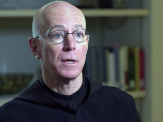 Father Columba Stewart of St. John's Abbey in Collegeville, Minnesota. Photo courtesy of Religion and Ethics NewsWeekly
