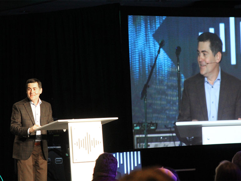 Southern Baptist ethicist Russell Moore speaks at the Evangelicals for Life conference in Washington, D.C., on Jan. 28, 2017. RNS photo by Adelle M. Banks