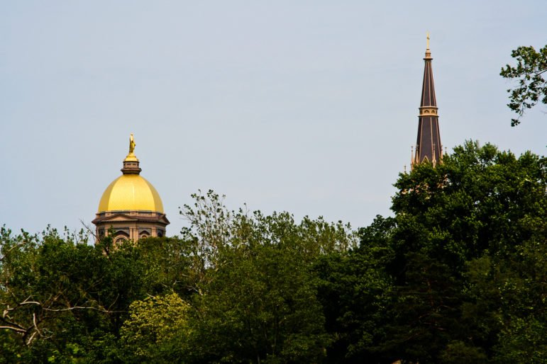 University of Notre Dame campus near South Bend, Ind.   Photo Credit: Greg Nelson via Flickr (cc)