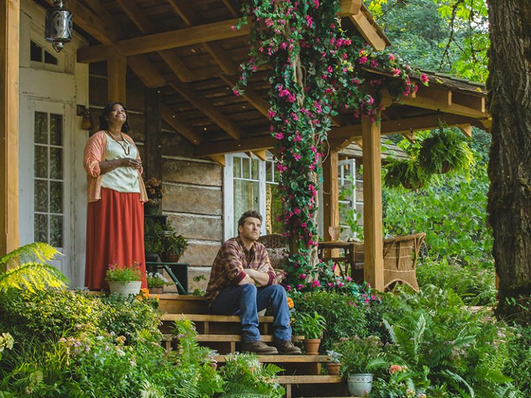 """Octavia Spencer and Sam Worthington in a scene from """"The Shack."""