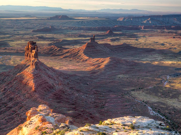 Aerial shot of the Valley of the Gods in Bears Ears National Monument. Photo courtesy Bureau of Land Management/Creative Commons