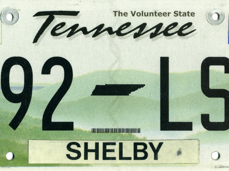 In God We Trust\' license plates hit Tennessee pothole - Religion ...