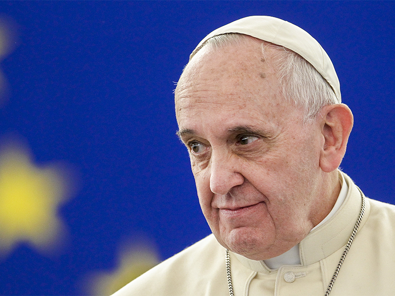 SHOCKER! The renegade pope said that Christians spreading the ...
