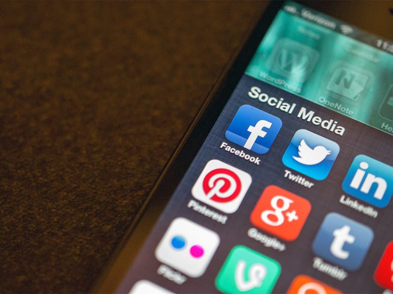 Social media apps on a phone. Photo by Jason Howie/Creative Commons