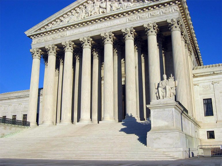A general view of the U.S. Supreme Court building in Washington. Photo by Duncan Lock/Creative Commons