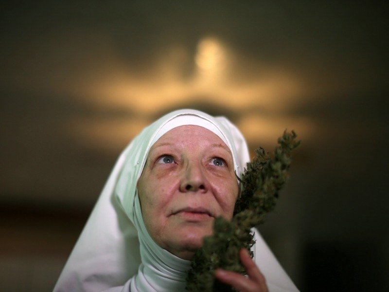 "California ""weed nun"" Christine Meeusen"