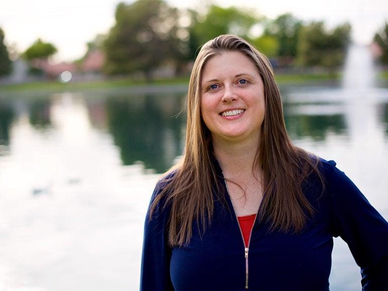 Former pastor Alicia Johnston.  Photo courtesy of Stephen Eyer
