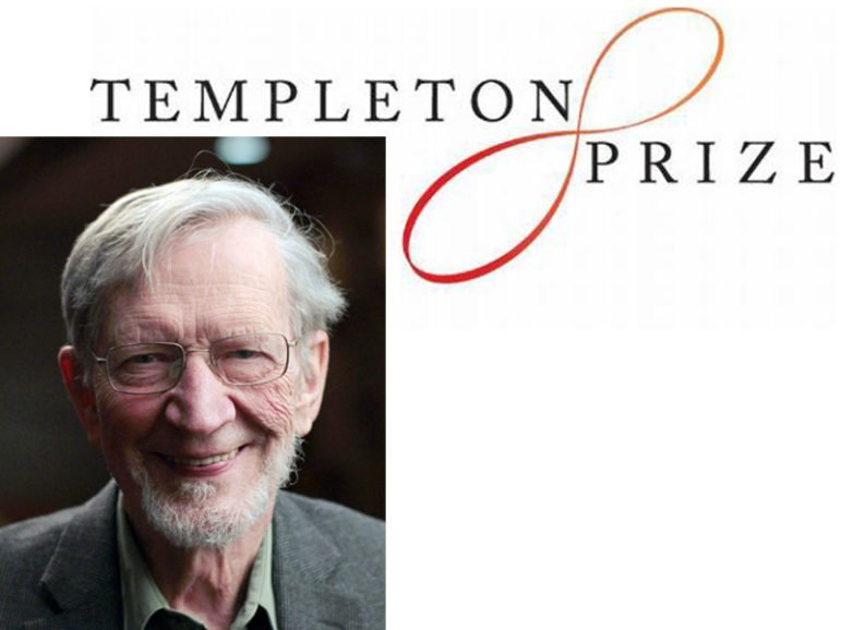 Templeton Prize winner Alvin Plantinga.  Photo courtesy of the Templeton Price/John Harrison