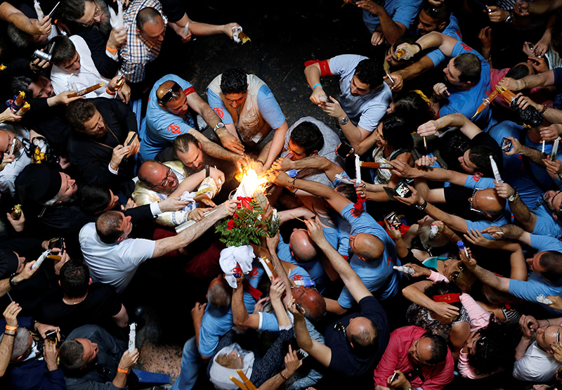 holy water in eastern christianity thousands of christians expected for rapturous holy fire ceremony