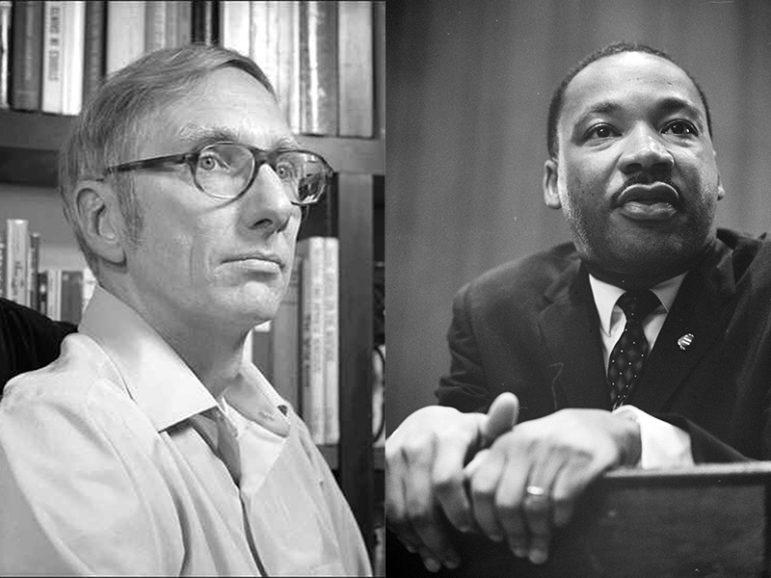 Robert Bellah, left, and Martin Luther King Jr. Photos courtesy of Creative Commons