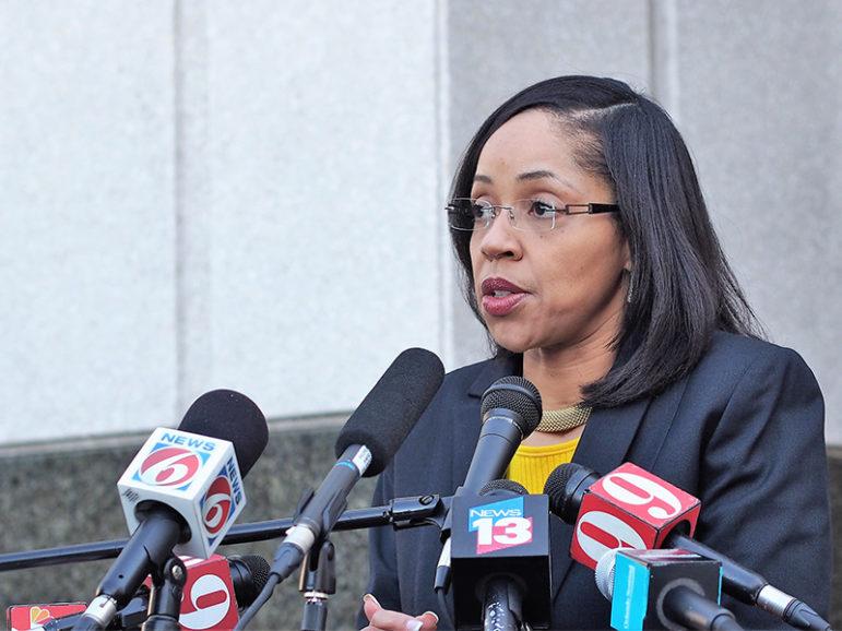 Florida state prosecutor Aramis Ayala addresses the media on March 16, 2017.  Photo courtesy of FloridaPolitics.com