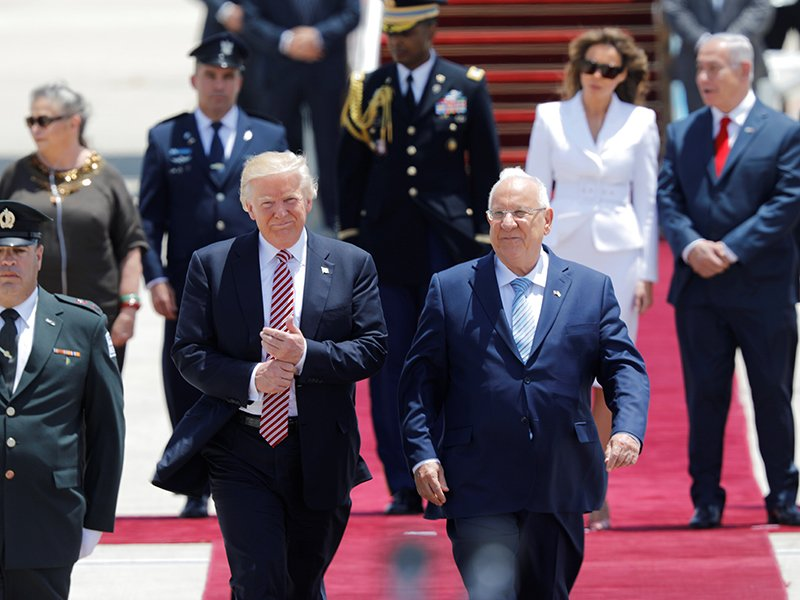 Trump Arrives In Israel For Second Leg Of International Trip