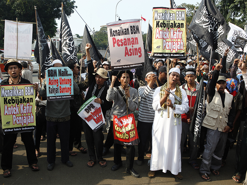 Indonesia to disband hard-line Islamic group Hizbut