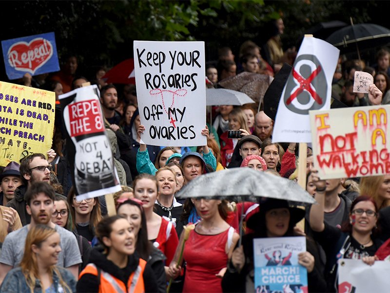 As Catholic influence in Ireland wanes, some hope abortion will be legalized
