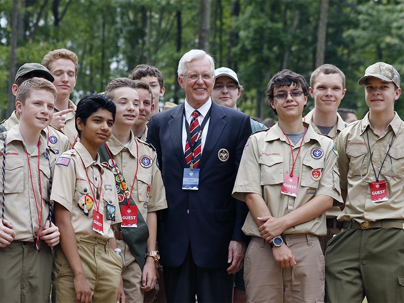 Scouts uniform sex