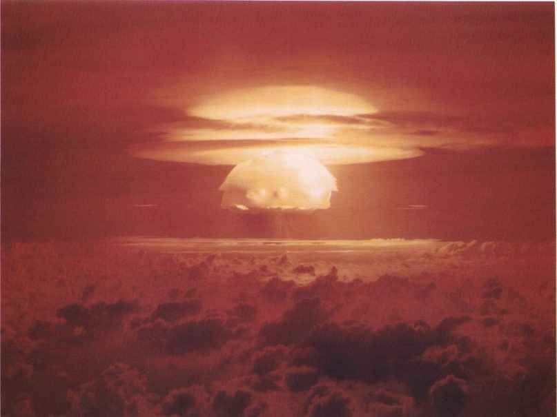 Thermonuclear weapon test