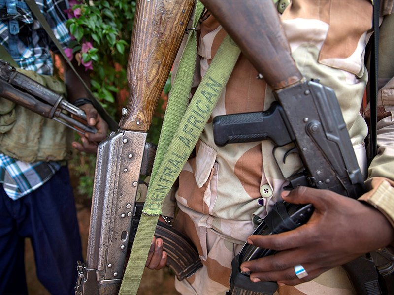 100 dead in Central African Republic town, mayor says