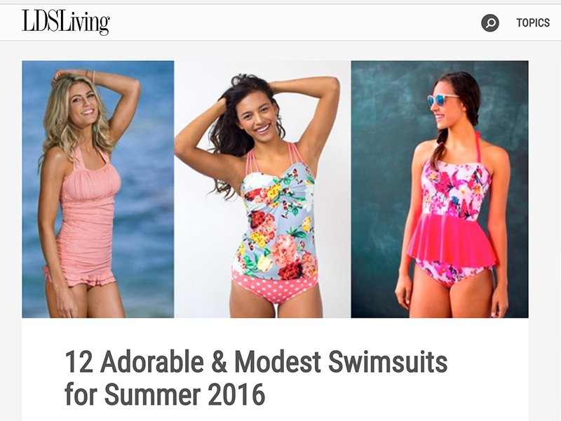 748c432f0e Bikini begone: Conservative modesty at the beach - Religion News Service