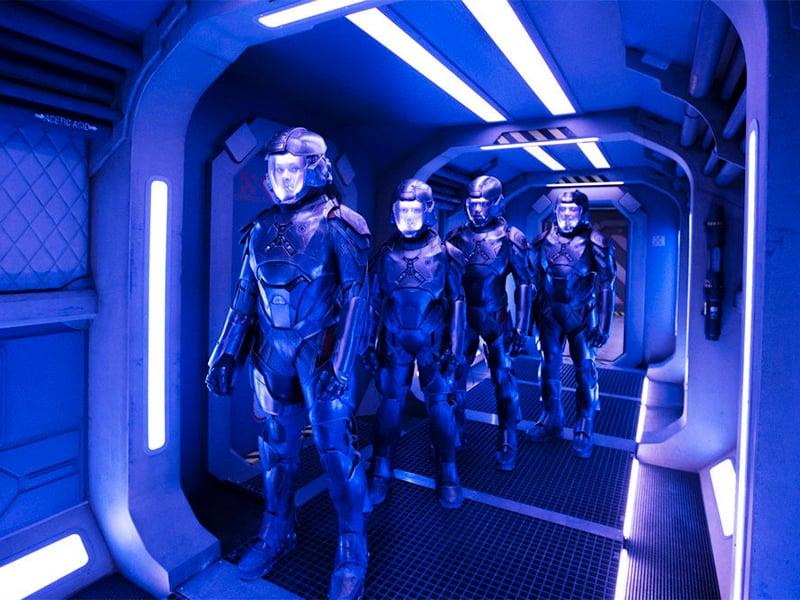 """A scene from Season 2 of """"The Expanse."""" Photo courtesy of Rafy/Syfy"""