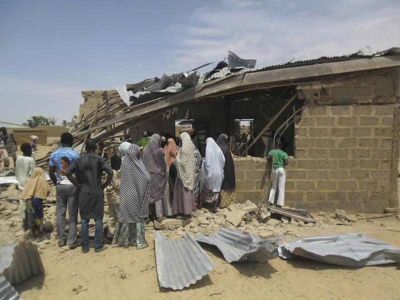 Nigeria asks Britain for military equipment to fight Boko Haram Islamists - Johnson