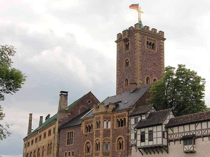 Wartburg Castle, in the town of Eisenach, in the state of Thuringia, Germany. RNS photo by Emily McFarlan Miller