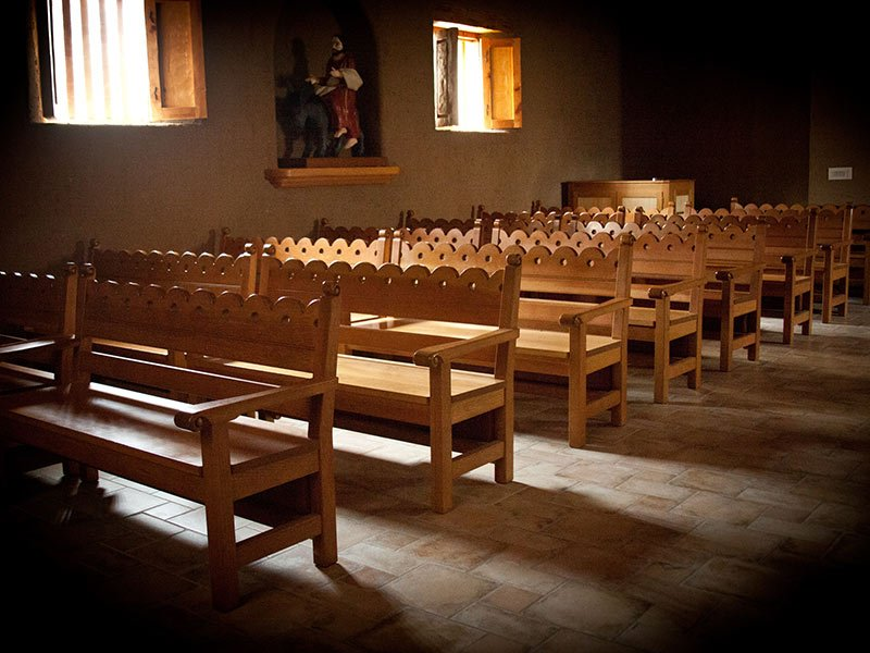 Nice Window Light Shines On The Empty Pews Of A Church In Kansas City, Mo. Photo  By Sally Morrow