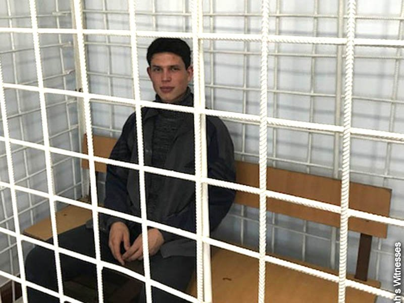Daniil Islamov. Photo courtesy of Jehovah's Witnesses