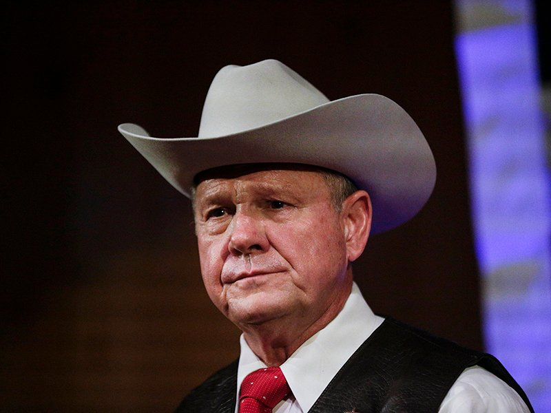 Roy Moore calls allegations against him 'completely false'