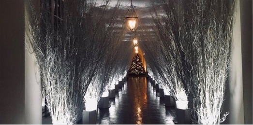 Melania Trump White House Christmas.Melania Trump S Pagan Christmas Decorations And The Problem